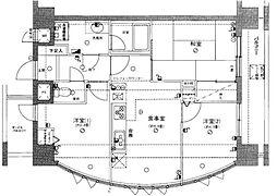 ライオンズプラザ大宮第2 8階3DKの間取り