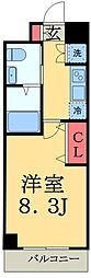 Humanハイム幕張本郷[1階]の間取り