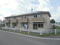 愛知県豊田市挙母町4丁目の賃貸アパートの外観