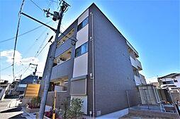 大阪府松原市阿保6の賃貸アパートの外観