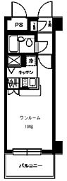 ワコーレ所沢[3階]の間取り