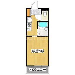東京都北区浮間4丁目の賃貸アパートの間取り