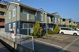 新潟県三条市西裏館3丁目の賃貸アパートの外観