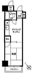 ホーユウパレス和田町[2階]の間取り