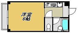ビバリーハウス南福岡7A[401号室]の間取り