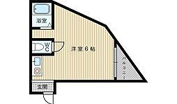 JPアパートメント東淀川3[3階]の間取り