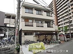 大阪府枚方市磯島南町の賃貸マンションの外観