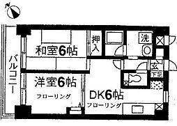 レジデンス二俣川第3[1階]の間取り