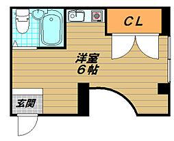 兵庫県神戸市須磨区平田町2丁目の賃貸マンションの間取り