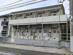 神奈川県横浜市磯子区森が丘1丁目の賃貸アパートの外観