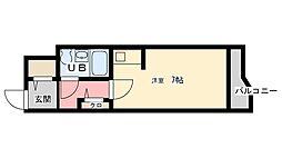 トーカンマンション久留米駅東[706号室]の間取り