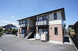 栃木県下野市大光寺1丁目の賃貸アパートの外観