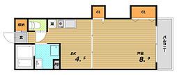 大場マンション[3階]の間取り