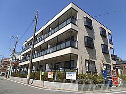 ラ・フォンテーヌの閑静な住宅街に立地したマンション