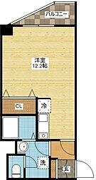 長崎県長崎市清水町の賃貸マンションの間取り