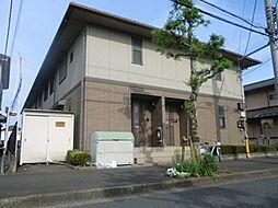 東京都青梅市今寺5丁目の賃貸アパートの外観