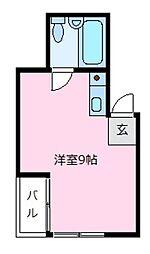 レジデンスマキ[2階]の間取り