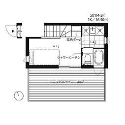 MA2209[5階]の間取り