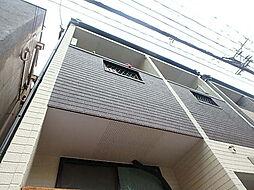 福岡県福岡市中央区西中洲の賃貸アパートの外観