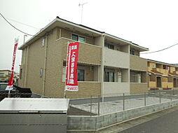 埼玉県鶴ヶ島市大字中新田の賃貸アパートの外観
