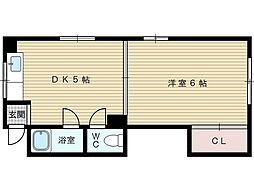 玉井マンション[3階]の間取り