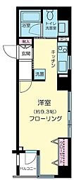 東京都千代田区神田錦町1丁目の賃貸マンションの間取り