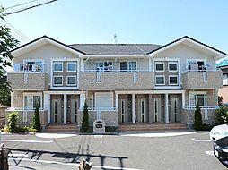 神奈川県鎌倉市上町屋の賃貸アパートの外観