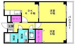 兵庫県加古郡稲美町国岡1丁目の賃貸アパートの間取り
