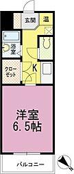 フォルトゥーナ箱崎宮前[303号室]の間取り