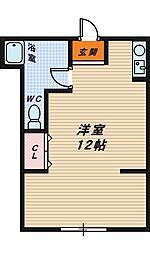 オリエントシティ堺東[3階]の間取り
