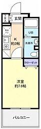 サンハイム久保田[302号室]の間取り