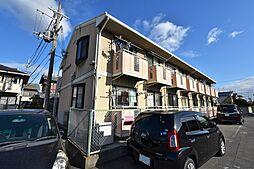 大阪府松原市上田2の賃貸アパートの外観