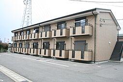 岐阜県可児市土田の賃貸アパートの外観