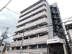 大阪府大阪市東住吉区照ケ丘矢田1丁目の賃貸マンションの外観