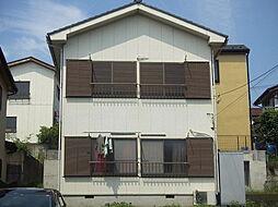 コーポ飯田D棟[201号室]の外観
