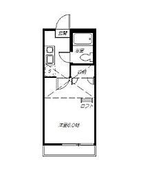 カーサクレールA[207号室]の間取り