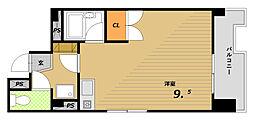 フォールヴィラ板宿[5階]の間取り