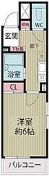 千葉県浦安市猫実5の賃貸マンションの間取り