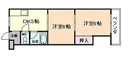 福島清水マンション[3階]の間取り