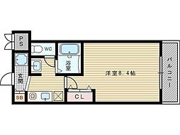 M'プラザ新大阪駅前[11階]の間取り
