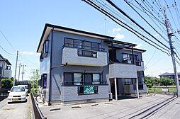 栃木県小山市西城南6丁目の賃貸アパートの外観