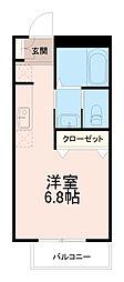 フォルテ矢野口[1階]の間取り
