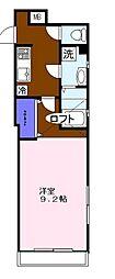フルジェンテ・カーサ[1階]の間取り