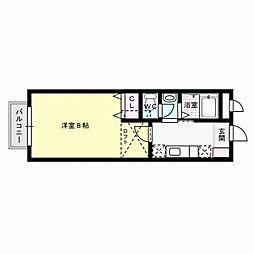 メリーゲート[2階]の間取り