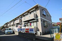 千葉県船橋市夏見台3丁目の賃貸アパートの外観