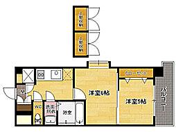 No87 MARIAGE STATION[14階]の間取り