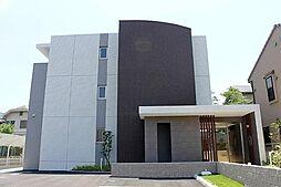 愛知県岡崎市明大寺町字畔土の賃貸マンションの外観