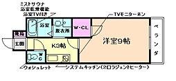 大阪府茨木市豊川5丁目の賃貸マンションの間取り