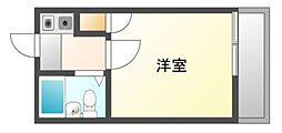 愛知県岡崎市羽根東町2丁目の賃貸アパートの間取り