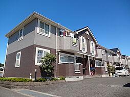 滋賀県東近江市躰光寺町の賃貸アパートの外観